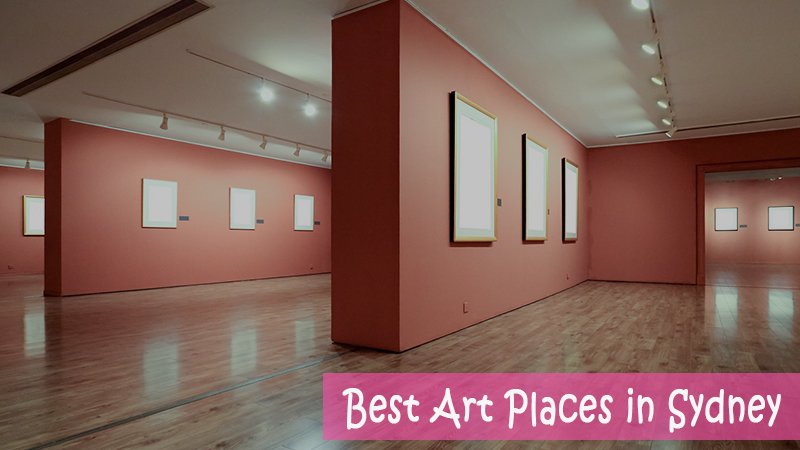 best art places in sydney